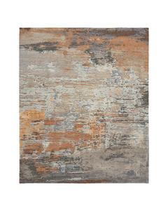 Abstracts 5 Terracotta grey /