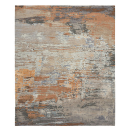 Abstracts 5 Terracotta grey