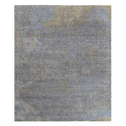 Savonnerie gold blue grey